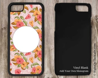 iPhone Case Craft Blank, Vinyl Blank iPhone, iPhone Case, Craft Blank, Personalized Patterned Monogram Blank