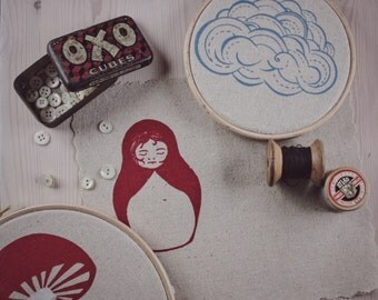 Embroidery sew on patches