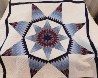 Amish Made, King size, Alabama Star Quilt