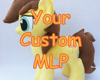 """Your Custom My Little Pony 15"""" Plush - Made to Order"""