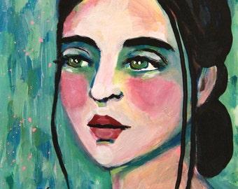 Olga - Original Painting