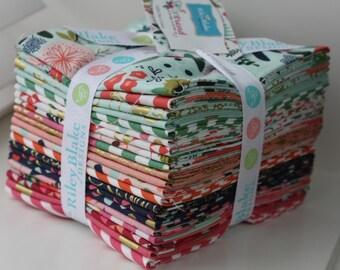 SALE 21 Fat Quarters ON TREND bundle from Riley Blake Designs by My Mind's Eye - Jen Allyson