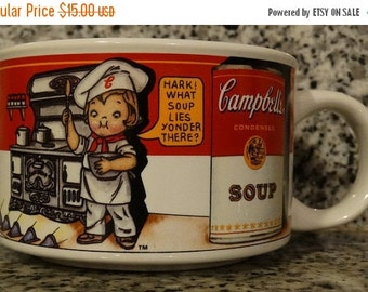 Campbell Soup Mug Etsy