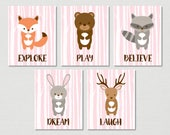 Woodland Animal Nursery W...