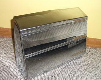Vintage Chrome Beautyware Paper Towel Dispenser, Aluminum Foil Wax Paper Towel Kitchen Storage Accessories