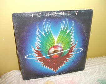 Journey Evolution Vinyl Record album NEAR MINT condition