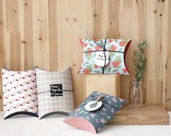 SET of 2pcs - Easy DIY Paper Packaging Bag, Kraft Envelope, Gift Wrapping