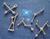 10 or 12 pcs Constellations Charm (Less than 24mm) AZ520