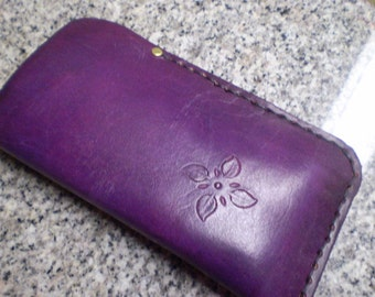 Deep Violet Eyeglass Case