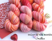 Smitten--February Color of the Month- Worsted Weight