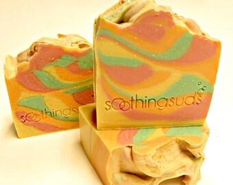 Funky Monkey - Handmade Colloidal Oatmeal & Shea Butter Soap, Artisan Soap, Soothing Suds Handmade Soap