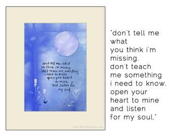 friendship, listening.