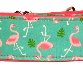 Flamingos Martingale Collar-