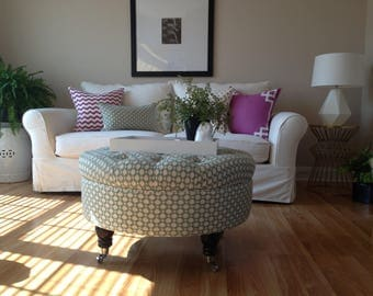 """Let Us Design Your Custom Ottoman - Your Fabric, Your Style... by """"Custom Ottoman Designs"""""""