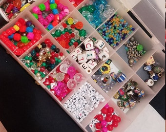 Lot of mixed beads