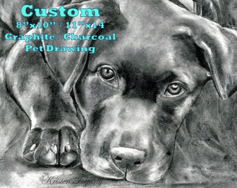 I want to Draw your Pet. Come here for Custom Realistic Pencil Art on 8x10 or 11x14 archival paper. Photo to Drawing