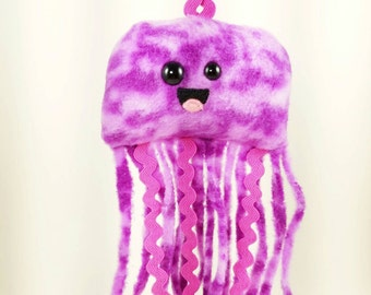 Purple Pink Tie-Dye Jellyfish Nubbin - Made To Order