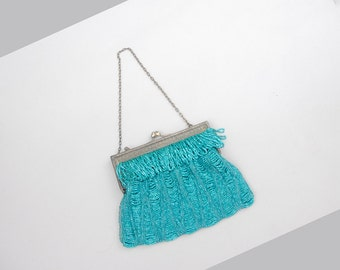 Bellaclaire beaded purse | vintage 1920s beaded purse | vintage flapper handbag