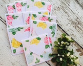 English Garden Mini Heart Cards Set