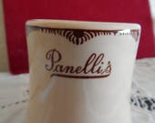 Walker China - Bedford, Ohio - Restaurant Ware - Panelli's- 1940's
