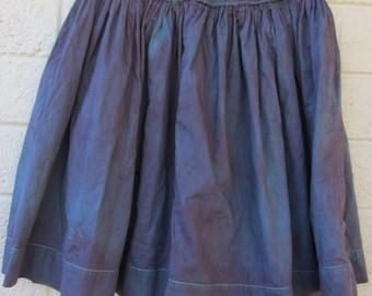 purple and burgundy burnout skirt womens short and flirty skirt