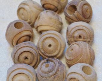 Olivewood beads, macrame beads, craft beads, macrame supplies, craft supplies, wood beads