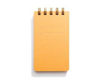 Reporter Notebook - Mustard Sketch