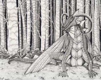 The Dragon - Original Art