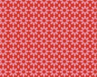 WINDHAM Uppercase Pink Floral Ice 41824-4 Yardage, Janine Vangool