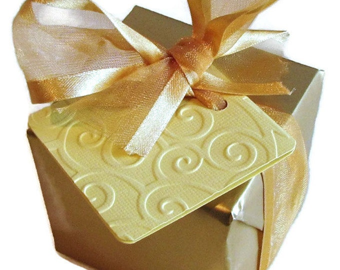 The Anytime Handmade Soap Gift, Birthday Gift, Favors. Includes 2 handmade soaps.