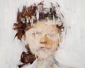 Giclee Fine Art Print, Fine Art, Painting, Portrait, Wall Decor, Wall Art, Home Decor, Contemporary Art, Modern Art, 8x10