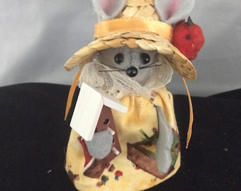 Mouse with a Bird House. NEW LOWER PRICE