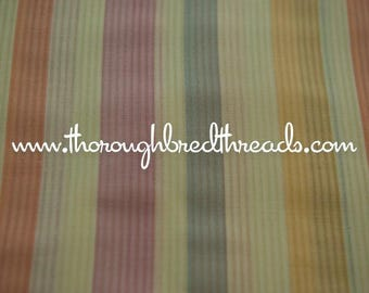Fun Stripes - Vintage Fabric 70s New Old Stock Vertical Rainbow