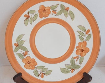Stangl Pottery Bittersweet Dinner Plate Southwestern Colors Dinnerware Dish Sets