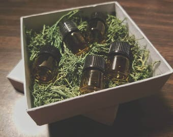 SAMPLE SET- Ritual Anointing Oils