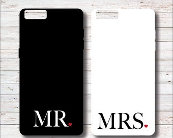 His and Hers Phone Case, Mr and Mrs Phone Case, Engagement Gift, Gift for Bride, Bridal Shower Gift, Bride To Be, Wedding Gift