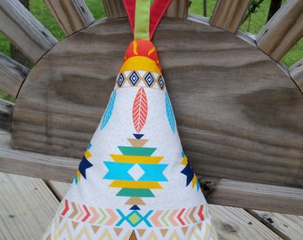 Pillow Kids and Baby Room Decor Teepee Pillow Nursery Decor Fun Decorative Pillow