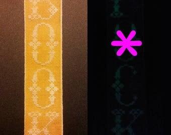 NSFW PATTERN: Effin' Glow-in-the-Dark Bookmark