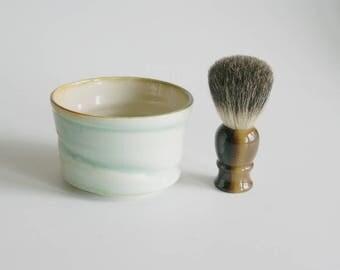 Shaving Bowl -  Shaving Cup for Hot Wet Shave - Ceramic Shaving Cup