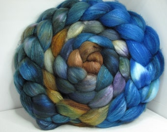 Organic Polwarth/Bombyx 80/20 Roving Combed Top 5oz - Sonoma Song 2