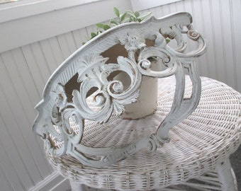 Vintage Shelf * Bed Crown * MADE IN ITALY * Shabby Chic * Paris Apt * French Cottage