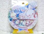 Kamio Japan Sticker Flakes - Candy Moko - 50 Pieces (46537)