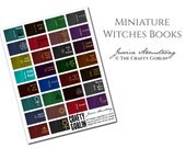 Halloween Witches Miniature Dollhouse Books PDF Download