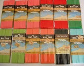 12 Packages of Vintage Wrights Wide Bias Tape For Sewing, Art Projects, Crafts