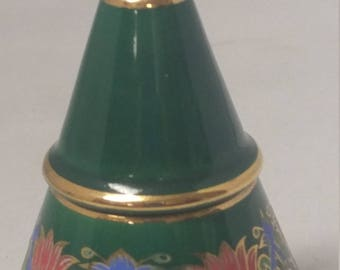ANAISE Type Liquid Perfume Bottle Glace' 3 Part with Brass Stopper #B536