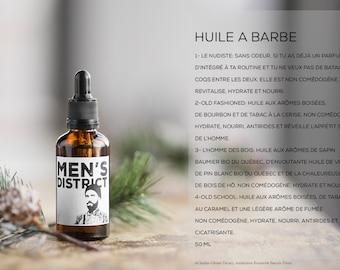 Vegan beard oil // Huile à barbe végan