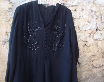 Vintage dress from 40s France - REDUCED