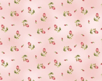 Pink Flannel Fabric - Welcome Home - Maywood - F8363M-P