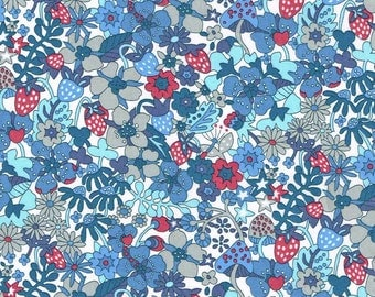 Liberty Tana Lawn Fabric Garden of Dreams Collection Fat Quarter Flower Tops C
