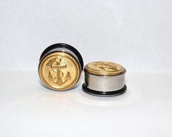 "Gold Anchor Plugs 3/4"" 19mm Single Flare"